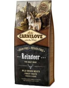 Carnilove Reindeer Adult 12kg + 1.5kg