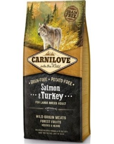 Carnilove  Adult Salmon & Turkey Large  12kg + 1.5kg