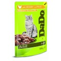 DADO ADULT POUCH CHICKEN 100GR