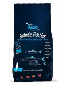 Daily Habits Anchovies Fish Nest Cat Food 15kg