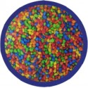 Χαλίκι ψαριων χρωματιστό 2/3mm 1kg