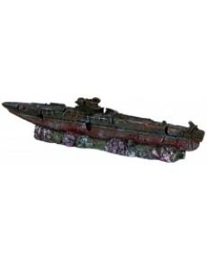 Υποβρύχιο ναυάγιο 51εκ για ενυδρείο