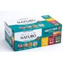 NATURO DOG  Ποικιλία 400gr Δίσκος 6 pack