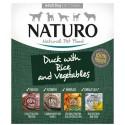 NATURO DOG  Πάπια & ρύζι με λαχανικά  400gr x 7pcs