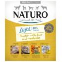 NATURO DOG  Light Κοτόπουλο & ρύζι με λαχανικά  400gr x 7pcs