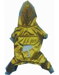 Αδιάβροχο σκυλου Gold small DR048