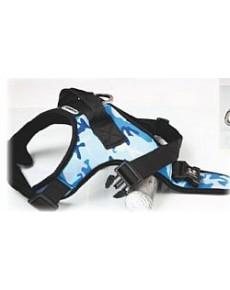 Dogness Σαμαράκι Camo Blue  Large