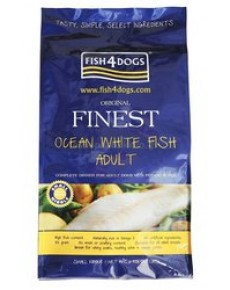 Fish4Dogs Finest Adult White Fish 12kg